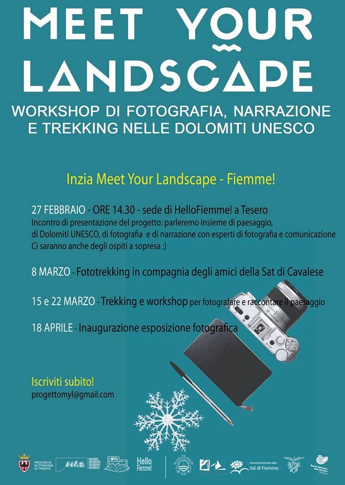 landscape Workshop di Fotografia Partecipata e Trekking
