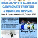 locandina campionati trentini biathlon 150x150 BIATHLON Assegnati i Titoli Trentini 2019 in Val di Fiemme