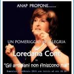 loredana cont a predazzo con gli artigiani 150x150 Predazzo, spettacolo teatrale di Loredana Cont per Sportabili