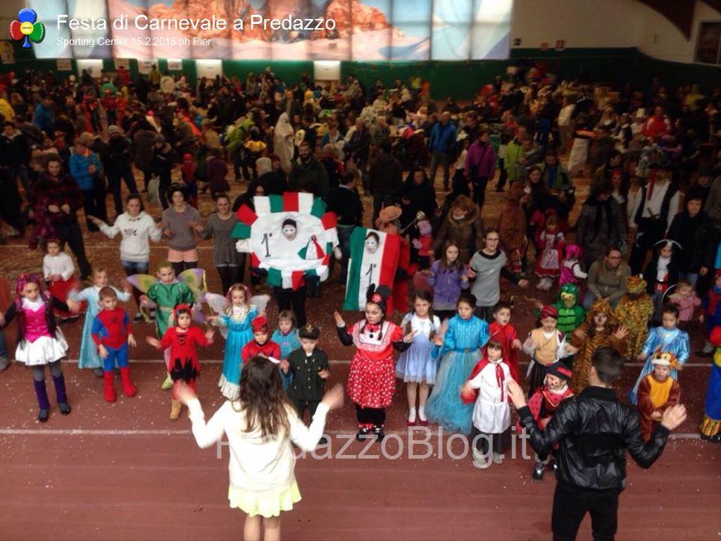predazzo carnevale 2015 sporting center1 Predazzo, successo per il Carnevale dei Bambini allo Sporting Center
