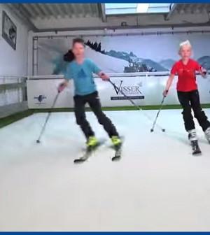 simulatore sci alpino