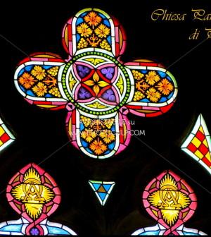 vetrate chiesa di predazzo