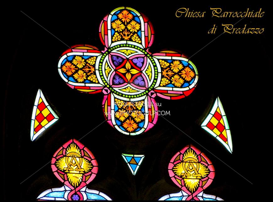 vetrate chiesa di predazzo Predazzo, avvisi della Parrocchia 15/22 febbraio