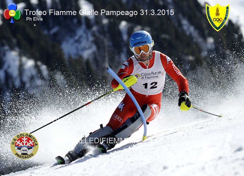 BACHER FABIAN SL PAMPEAGO 31 2015 PHOTO ELVIS Bis di Fabian Bacher nel secondo slalom FIS di Pampeago
