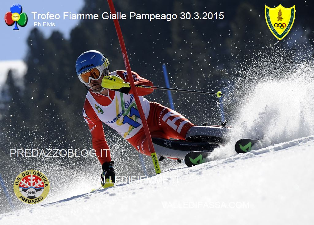 BACHER FABIAN TROFEO FFGG 2015 PHOTO ELVIS A Fabian Bacher il Trofeo Fiamme Gialle di Pampeago   Classifiche e Foto