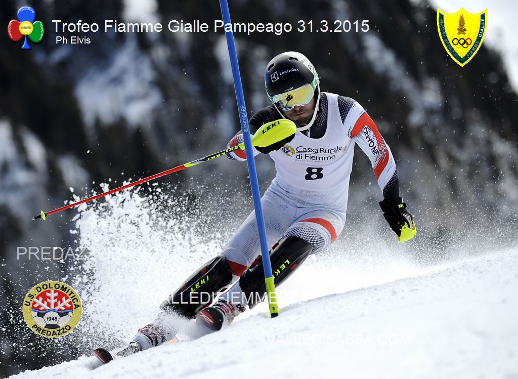 BONER SANDREO SUI SL PAMPEAGO 31 2015 PHOTO ELVIS Bis di Fabian Bacher nel secondo slalom FIS di Pampeago