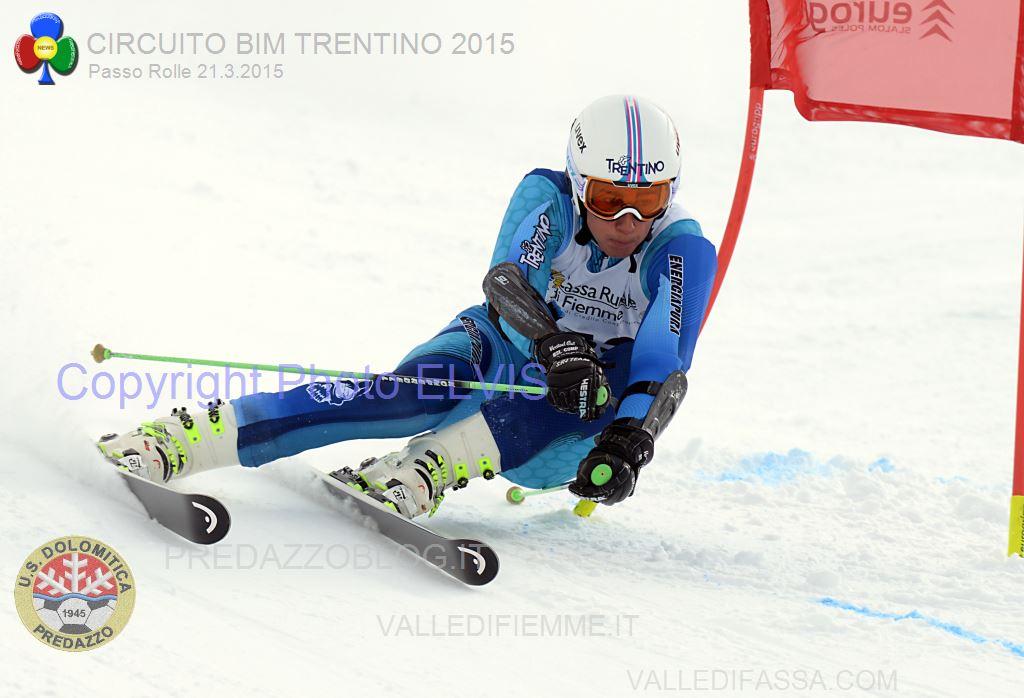 PAPA TOMMASO GS TRENTINI ROLLE 2015 b PHOTO ELVIS Rolle, Trofeo 70° US Dolomitica e Campionato TN Slalom Classifiche e Foto