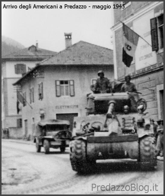 americani a predazzo 1945 29 marzo 1944, bombe su Predazzo