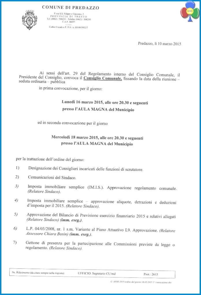 consiglio comunale predazzo marzo 2015 696x1024 Consiglio Comunale a Predazzo