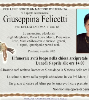 Felicetti Giuseppina