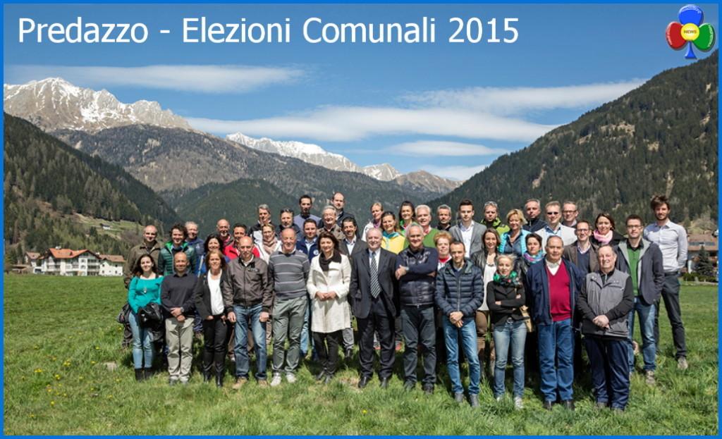 candidati elezioni 2015 predazzo 1024x623 Elezioni, presentazione liste a Predazzo e Bellamonte
