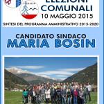 copertina volantino elezioni comune predazzo 2015 150x150 Predazzo, le liste di Maria Bosin (ma serve il quorum del 50%)