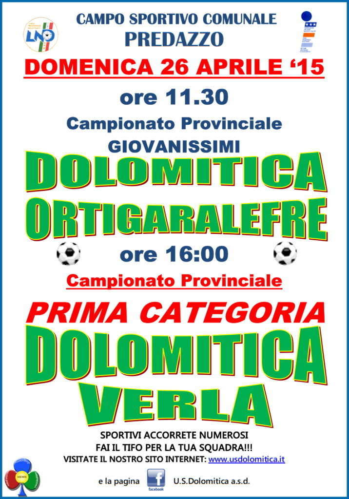 Dolomitica - Ortigaralefre e Dolomitica - Verla @ Campo Sportivo | Predazzo | Trentino-Alto Adige | Italia