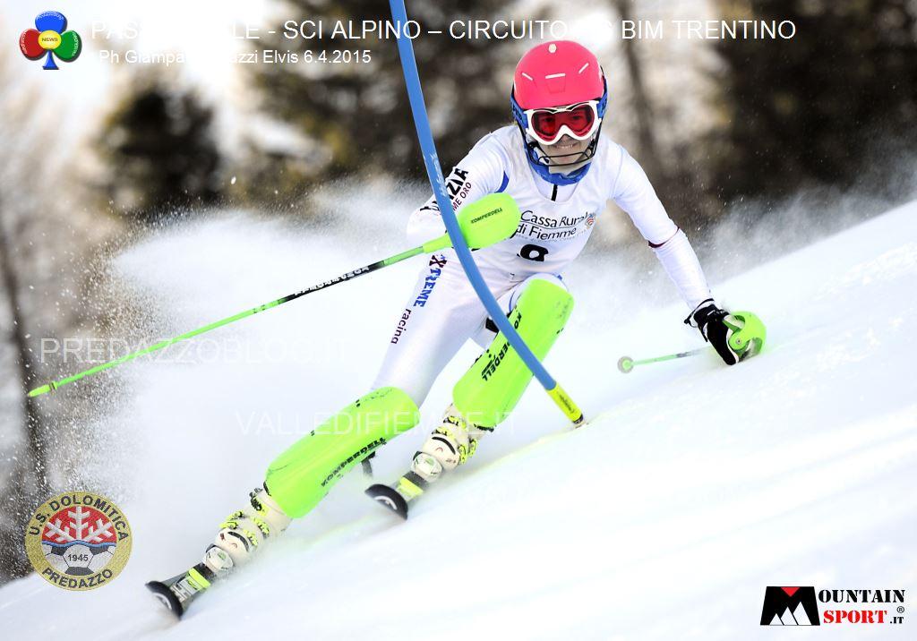 sci alpino gare fis passo rolle bim dolomitica 6 aprile 20152 Circuito Fis Bim Trentino oggi al Rolle, classifiche e foto