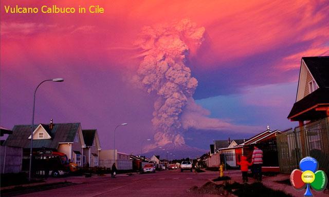 vulcano calbuco cile chile Il vulcano Calbuco si risveglia in Cile   Video