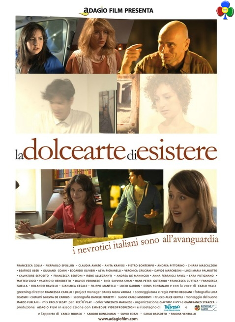 LA DOLCE ARTE DI ESISTERE locandina La dolce arte di esistere la prima a Predazzo con il regista Pietro Reggiani