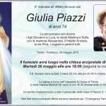 Piazzi Giulia 150x150 Predazzo, necrologio dott. Vittorio Gilardi