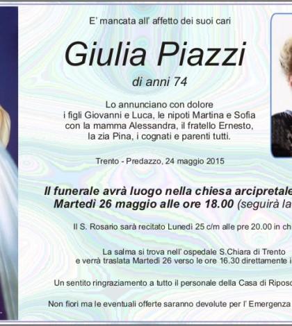 Piazzi Giulia