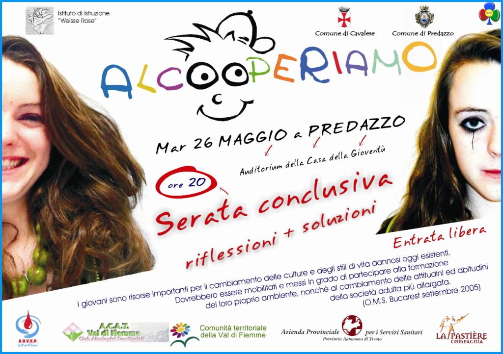 festa alcooperiamo 2015 predazzo 1024x722 Serata conclusiva Alcooperiamo 2015 a Predazzo