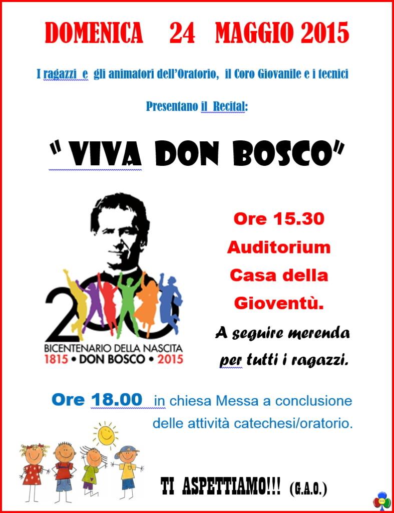 viva don bosco predazzo 787x1024 Viva don Bosco il recital dei ragazzi dellOratorio