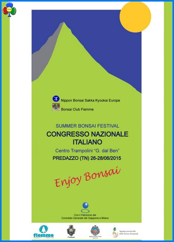 bonsai predazzo Predazzo, Congresso Nazionale Summer Bonsai Festival