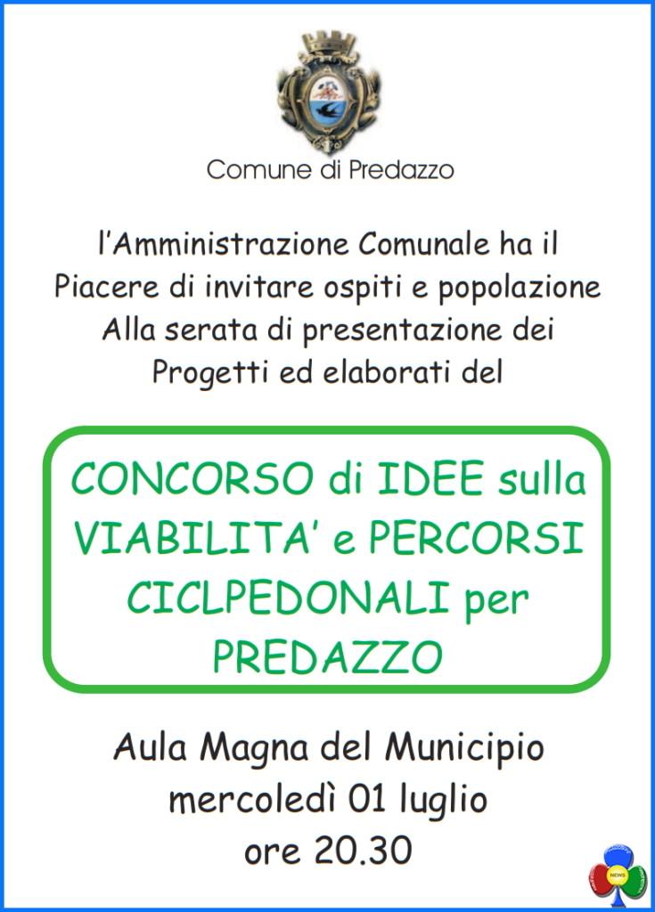 concorso di idee predazzo 735x1024 Presentazione progetti del concorso di idee sulla viabilità di Predazzo