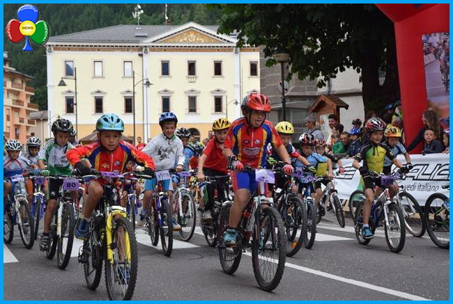 minicycling predazzo La Minicycling nel centro storico di Predazzo