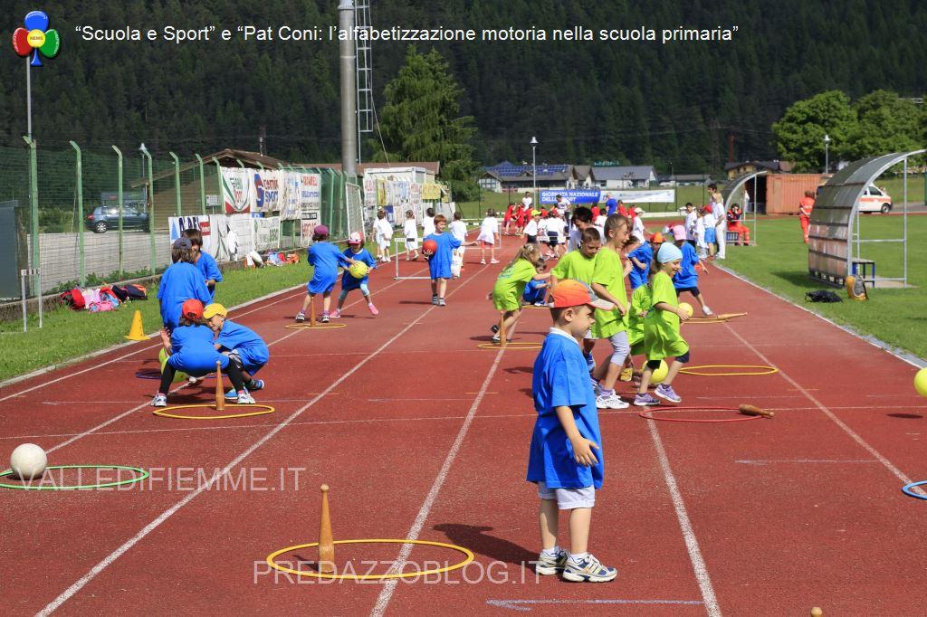 scuola e sport pat coni fiemme1 A Predazzo sport e amicizia per 400 bambini