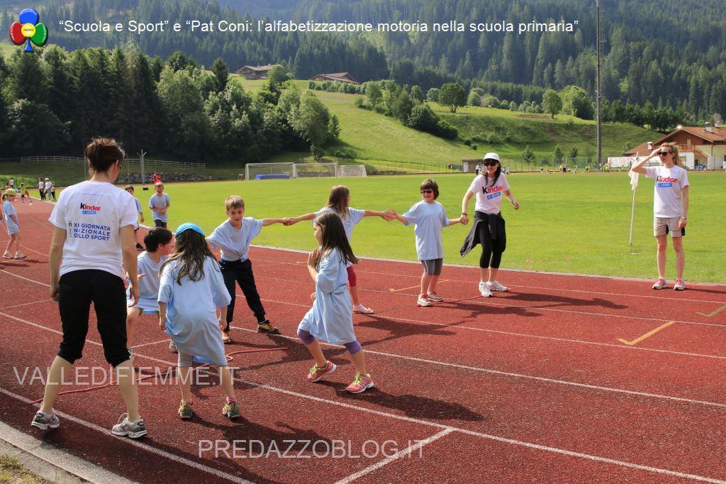 scuola e sport pat coni fiemme2 A Predazzo sport e amicizia per 400 bambini