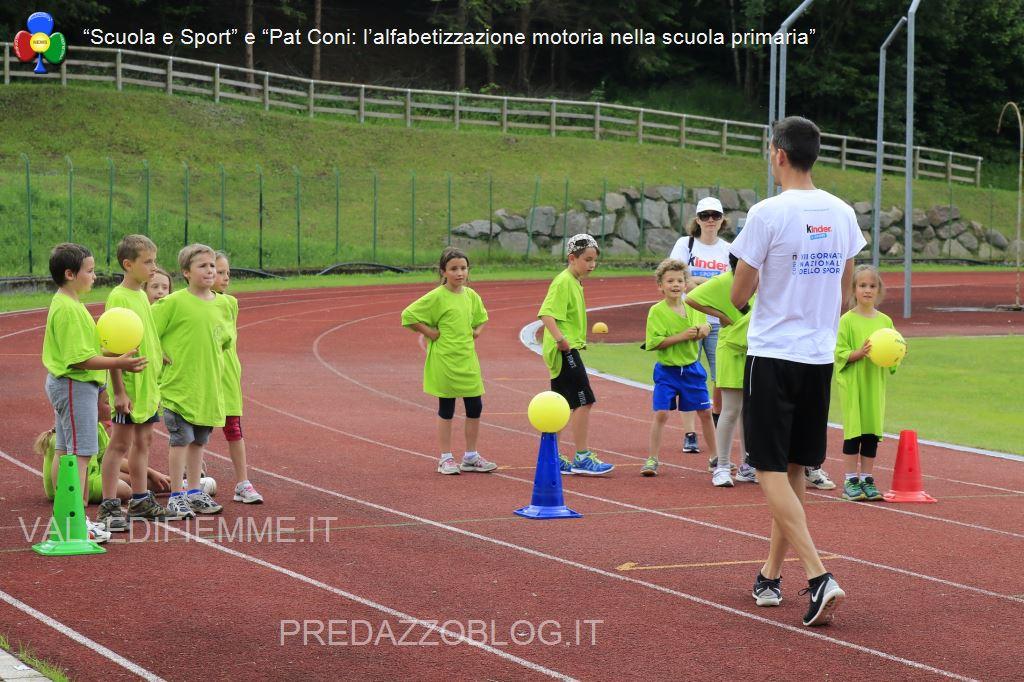 scuola e sport pat coni fiemme4 A Predazzo sport e amicizia per 400 bambini