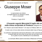 Moser Giuseppe 150x150 Necrologio, Giuseppe Defrancesco