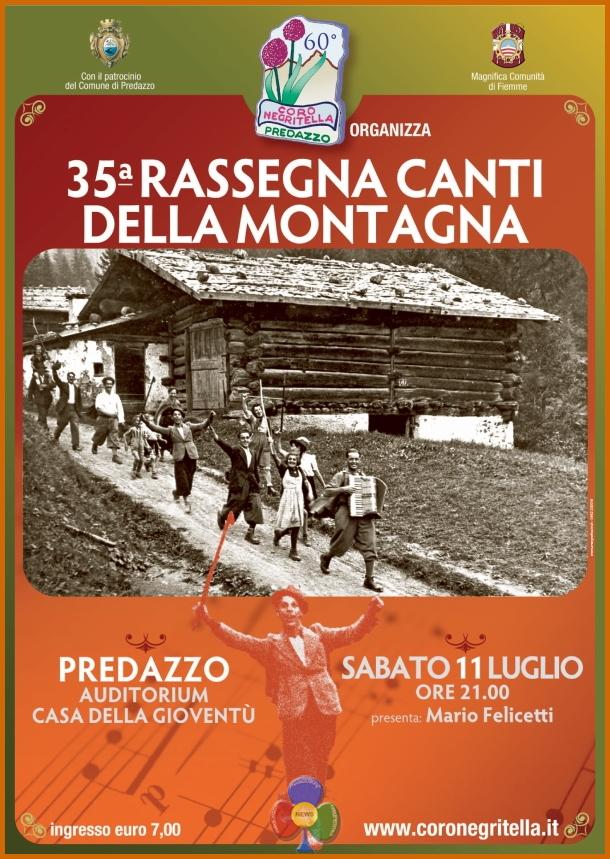 Negritella predazzo rassegna 2015 Predazzo, 35^ Rassegna Canti della Montagna