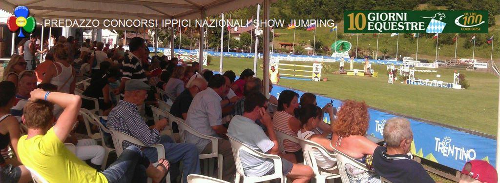 """predazzo concorsi ippici nazionali show jumping fiemme12 Addio alla """" 10 GIORNI EQUESTRE"""" di Predazzo"""