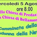 CAMMINATA MADONNA DELLA NEVE 150x150 Avvisi Parrocchia 13/20 agosto