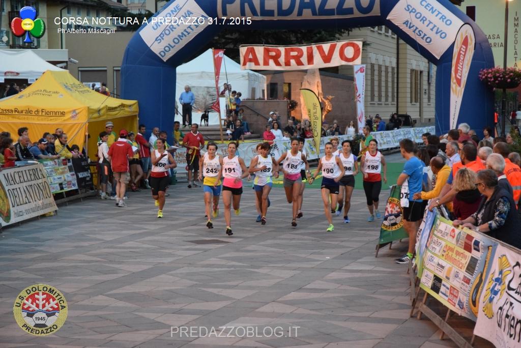 corsa notturna a predazzo 31.7.2015 predazzoblog178 U.S. Dolomitica, calendario manifestazioni estate 2016