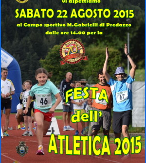 festa atletica predazzo 2015