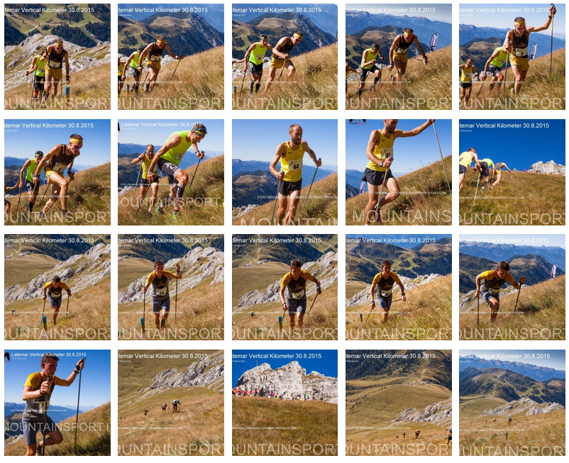 fotogallery latemar vertical km 2015 Latemar Vertical Km domenica 28 agosto 2016