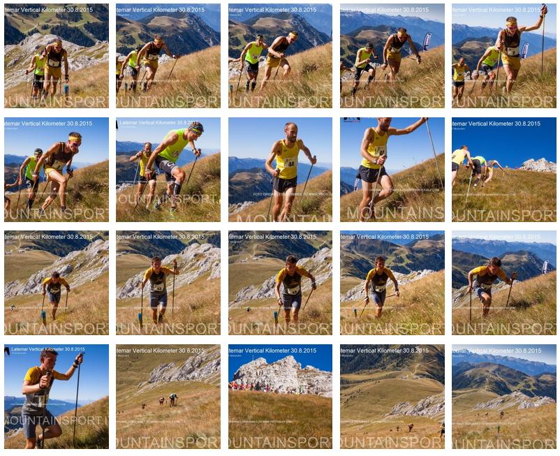 fotogallery latemar vertical km 2015 A Facchini e Rossi la 17° Latemar Vertical Kilometer 2015   Classifiche e Foto