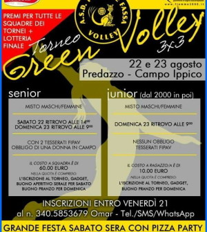 green volley predazzo