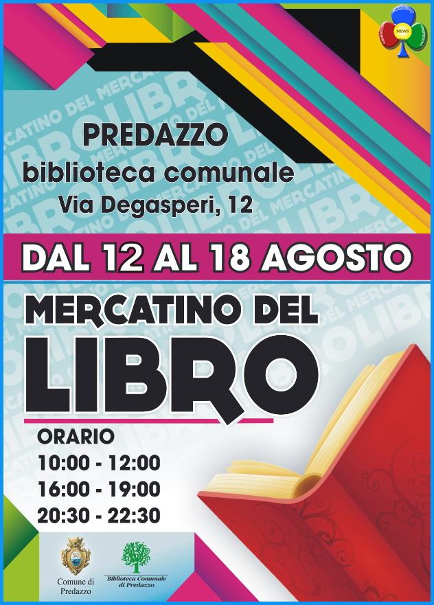 mercatino libro usato1 Predazzo, mercatino del libro usato