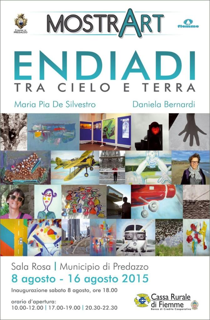 """mostra tra cielo e terra predazzo 2015 671x1024  Aperta la mostra d'arte Endiadi, tra cielo e terra"""""""