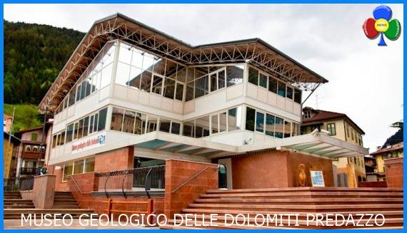 museo geologico dolomiti predazzo esterno Inaugurazione Museo Geologico delle Dolomiti di Predazzo