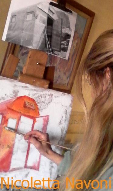 nicoletta navoni pittrice I Bivacchi delle Fiamme Gialle in mostra alla Scuola Alpina