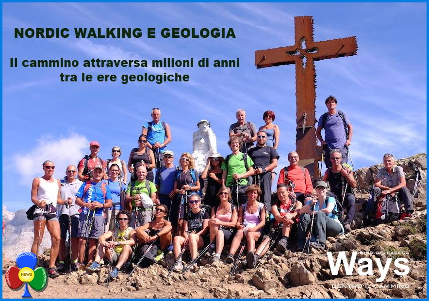 nordic walking e geologia rolle  Nordic Walking e geologia al Passo Rolle