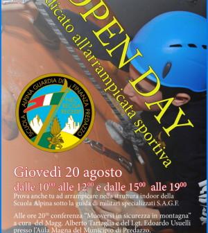 open day guardia di finanza predazzo
