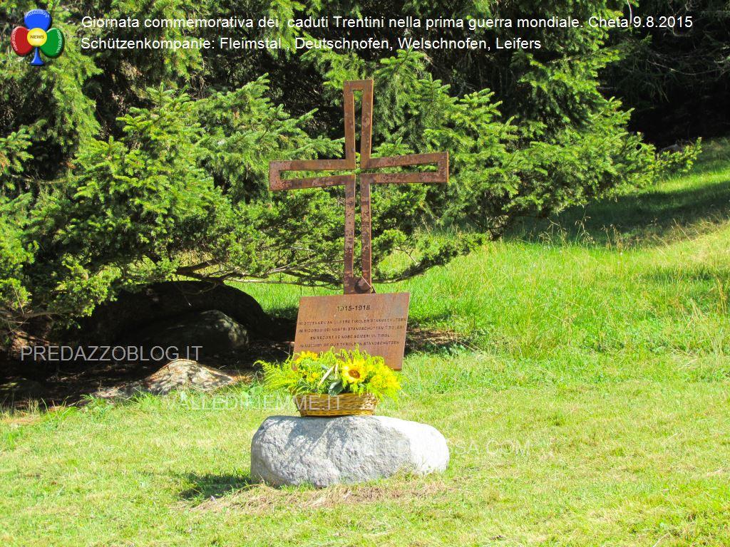 """schutzen a cheta 9.8.15 bellamonte predazzo blog28 """"An der Front"""" giornata commemorativa a Cheta   Le foto"""