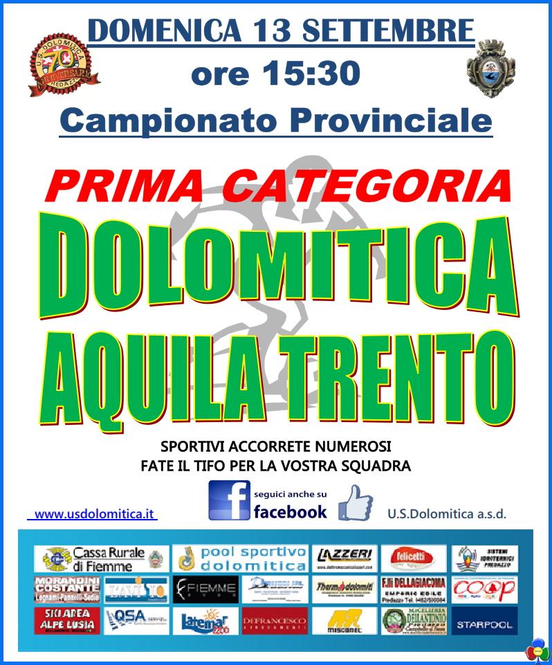 dolomitica aquila trento Trofeo Piero Pertile e Dolomitica   Aquila Trento