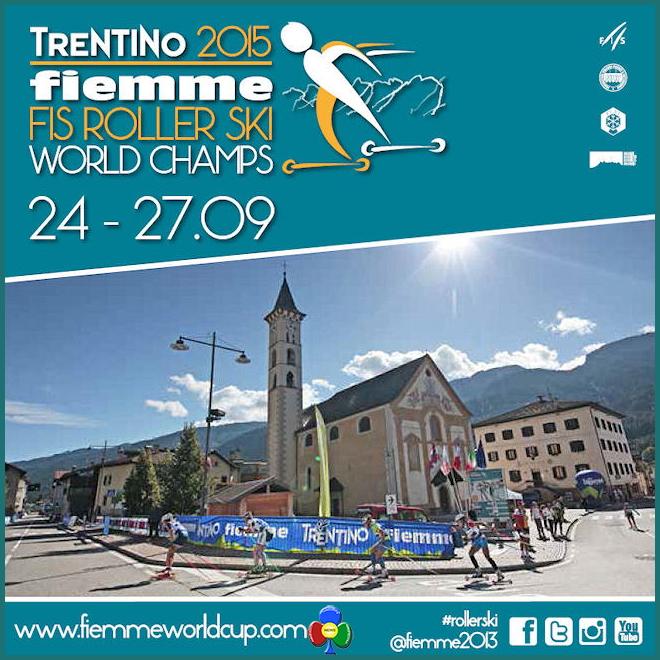 fiemme fis roller ski 2015 24/27 settembre Campionati del Mondo Skiroll in Valle di Fiemme