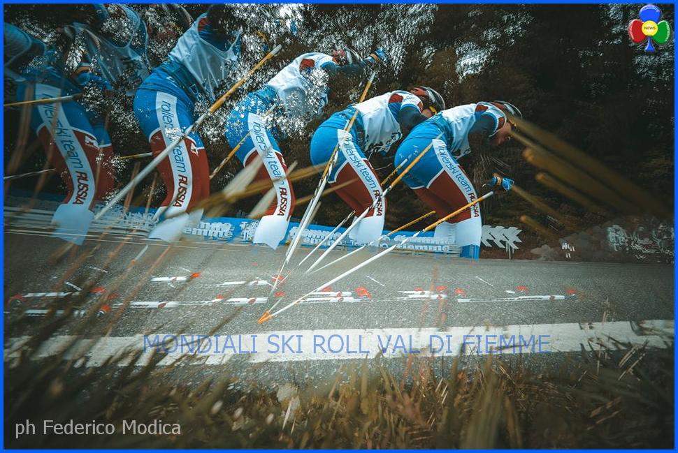 mondiali skiroll fiemme 2015 by modica Mondiali Skiroll Zelger e Rastelli nellolimpo di Fiemme