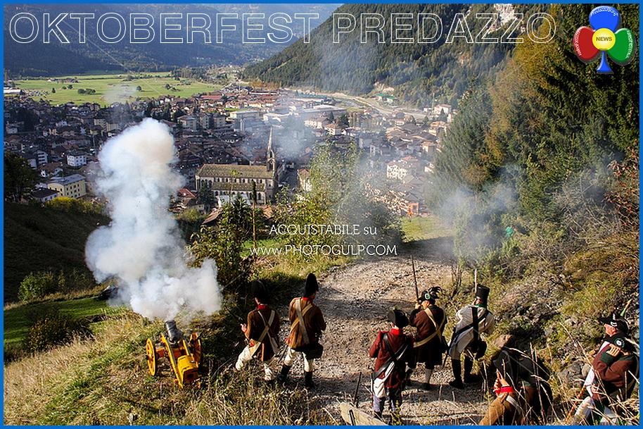 oktoberfest predazzo sveglia al paese cannone 1 Oktoberfest 2015 di Predazzo, le novità